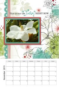 Enchanted Magnolia November 2013