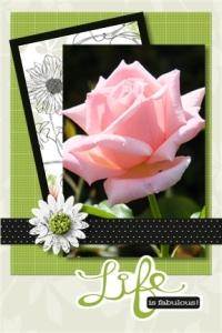 Flower card 10