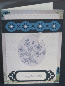 Handcrafted card