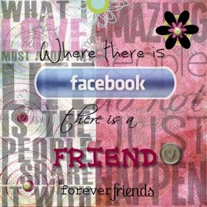 Facebook Friends layout