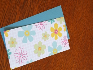 Patterned paper for base