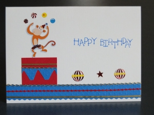 Child's birthday card