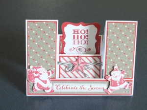 CTMH  Sparkle and Shine Christmas Card