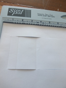 Double side step card instructions