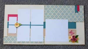CTMH Chantilly double page layout