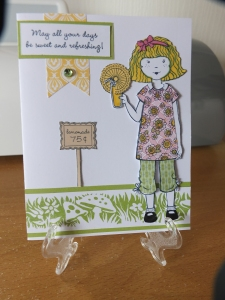 CTMH - Paper Doll Stamp set - Paper Piercing