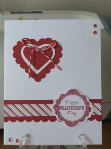 CTMH Valentines Day Card