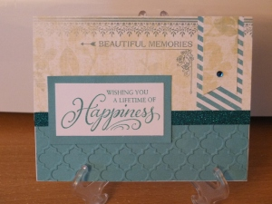 CTMH Skylark Wedding card