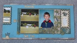 CTMH - Timberline double page layout
