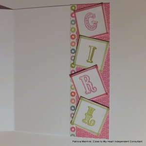 CTMH Lollydoodle baby card
