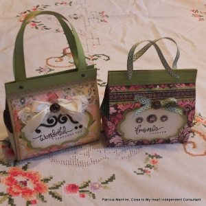CTMH Ariana and Ivy Lane bags.