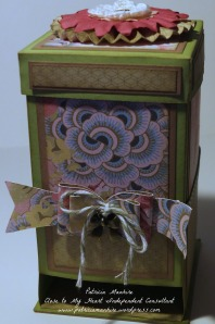CTMH Ariana Tea Bag Dispenser box