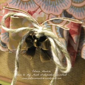 CTMH Close up of Ariana Tea Bag Dispenser box