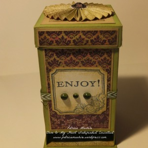 CTMH Tea Bag dispenser box