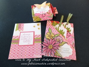 Brushed cardmaking class