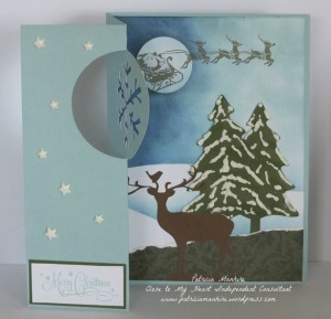 CTMH Artfully Sent Christmas Card