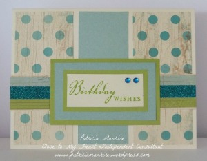 CTMH Seaside masculine card