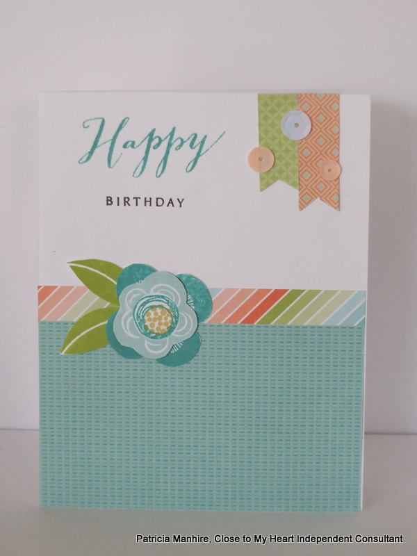 CTMH Blossom and Shower Flowers Stamp Set