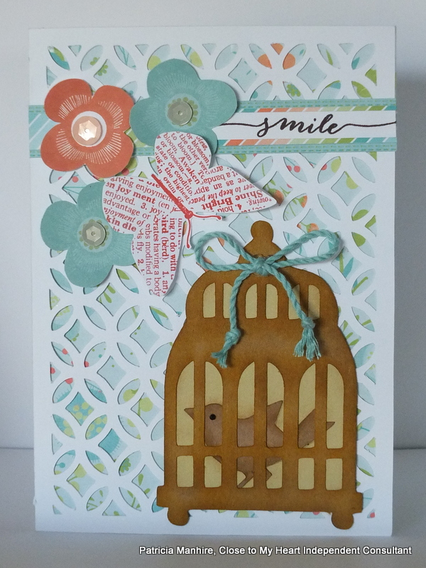 CTMH Artfully Sent and Paper Bird