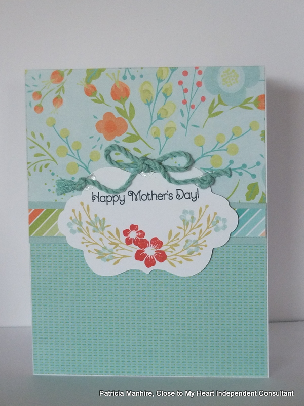 #CTMH Blossom Mother's Day Card