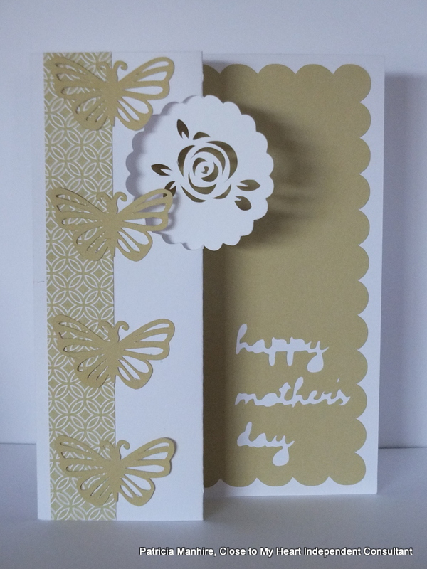 #CTMH Artfully Sent Mother's Day Card
