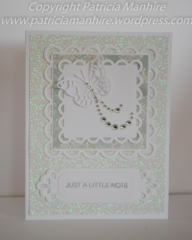 Just a little note - Spellbinders and Memory box