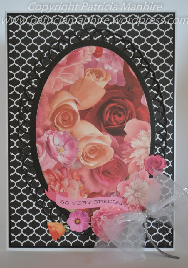 #CTMH Le Vie En Rose, #Heartfelt Creations Eyelet Oval